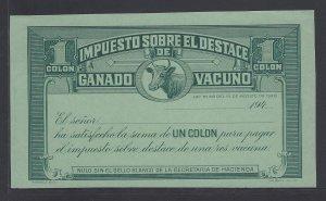 COSTA RICA IMPUESTO GANADO VACUNO, TAX ON CATTLE LIVESTOCK