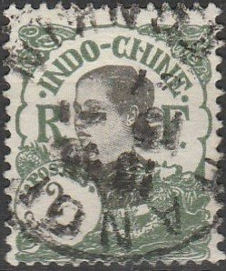 Indo-China, #99  Used From 1922-23