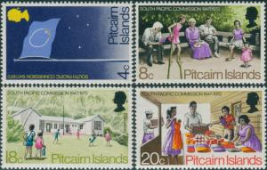 Pitcairn Islands 1972 SG120-123 South Pacific Commission set MNH