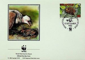 Niuafo'ou Tonga FDC Bird & Chick 1992