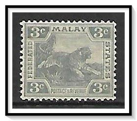 Malaya #43 Tiger MNH
