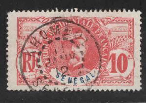 Senegal Scott 61 Used 1906 General Faidherbe 10c