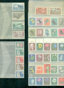 SWITZERLAND MINT NH SEMI POSTAL SETS 1941//1946  Scott $359.00