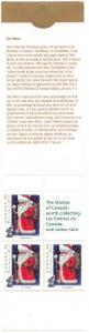 Canada - 1993 Christmas Ded Moroz Booklet mint #BK164b