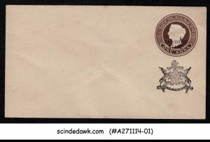 FARIDKOT STATE - 1a QV ENVELOPE - OVPT - MINT INDIAN STATE   BACK FLAP IS GLUED