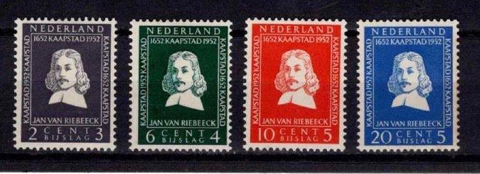 1952 Netherlands Tercentenary of Landing in South Africa Set