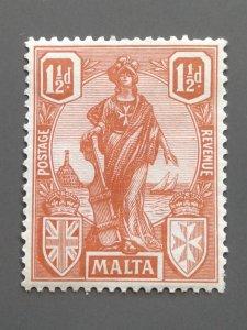 Malta 102 F-VF MHR. Scott $ 6.00