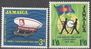 Jamaica #242-3 MNH F-VF (SU2718)