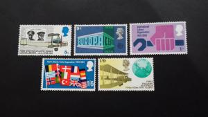 Great Britain 1969 Anniversaries  Mint