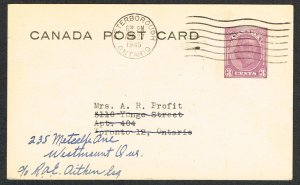 Canada Postal Card Webb P198