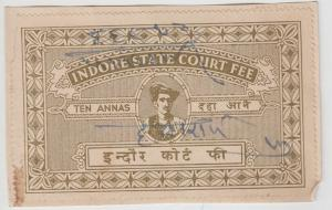 Indore /  State India Fiscal  10A  Court Fee  Revenue  K&M T 12     99391