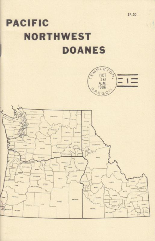 Pacific Northwest Doanes, by Richard Helbock, NEW