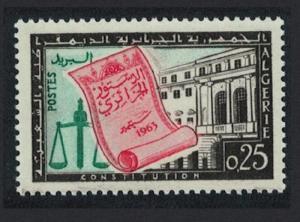 Algeria Promulgation of Constitution 1v SG#417