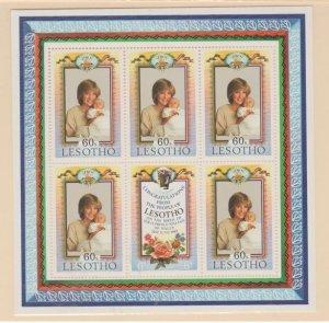 Lesotho Scott #379-380 Stamp - Mint NH Sheet