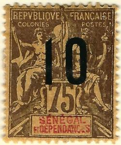 French Senegal (Scott #78) Mint F-VF...A piece of exotic History!
