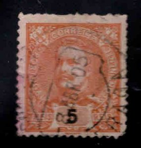 PORTUGAL Scott 111 Used  King Carlos stamp