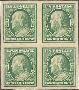 343 Mint,OG,NH... Block of 4... SCV $36.00