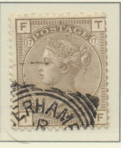 Great Britain Stamp Scott #71, Used, Postal Cancel - Free U.S. Shipping, Free...