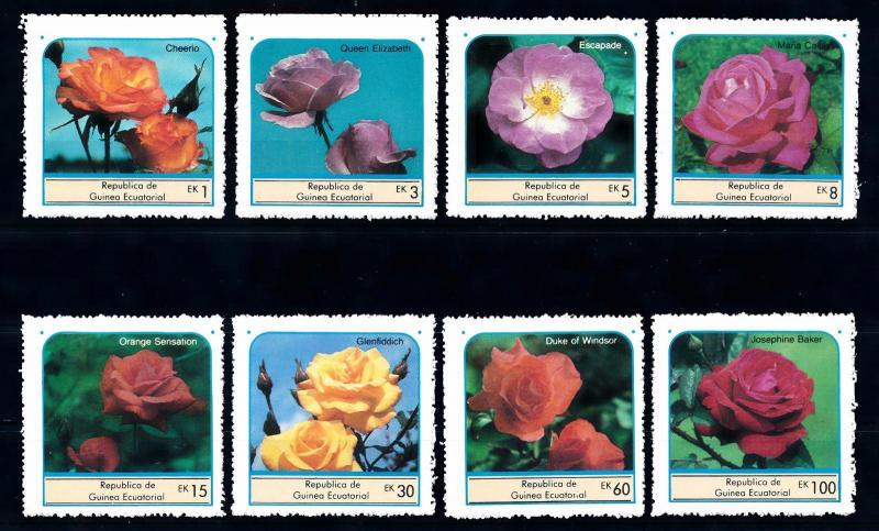 [66907] Equatorial Guinea Local Issue  Flora Flowers Blumen Roses  MNH
