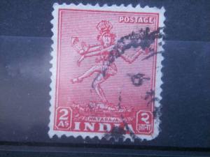 INDIA, 1949, used 2a, Nataraja, Scott  211