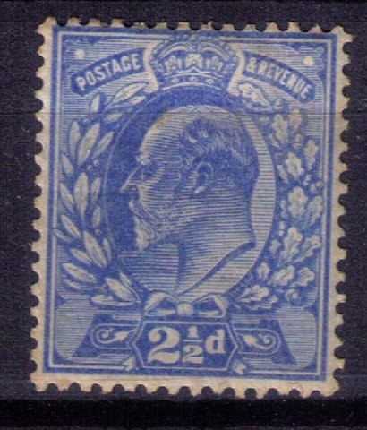 Great Britain Scott #131 MH (Sg230) KEVII-F-VF