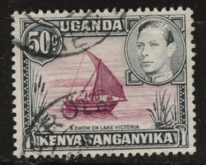 Kenya Uganda and Tanganyika KUT  Scott 79 used