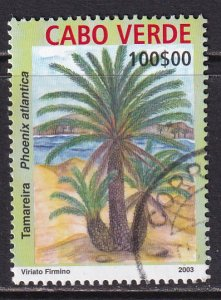 Cape Verde (2004) #822 used; top value of the set