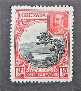 Grenada 116a. 1934 1 1/2p KGV, perf. 12 1/2