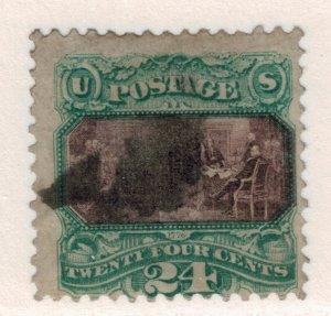 United States Stamp Scott #120, Used - Free U.S. Shipping, Free Worldwide Shi...