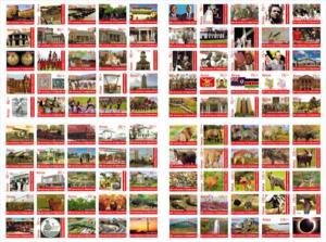 Kenya 2013 MNH Independence 50th Anniv 25v M/S I, 2, 3 & 4 (set of 4 / 100 st...