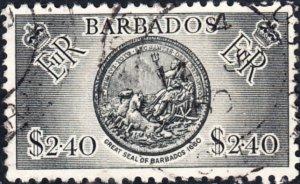 Barbados #247  Used