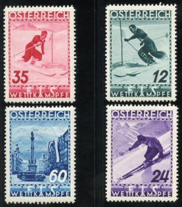 AUSTRIA SCOTT#B138/41  MINT HINGED SET--SCOTT VALUE $52