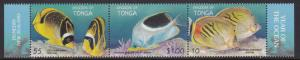 Tonga, Fauna, Fishes MNH  / 1998