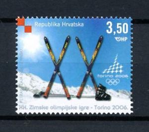 [92405] Croatia 2006 Olympic Games Turin Torino Ski  MNH