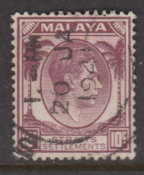 Straits Settlements Sc#244 Used