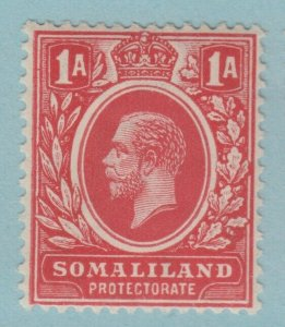 SOMALILAND 52  MINT  HINGED OG *  NO FAULTS VERY FINE! 1912 - 1919