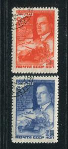 Russia #905-6 Used