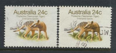 Australia SG 788 and 788b  pair Used  see further details