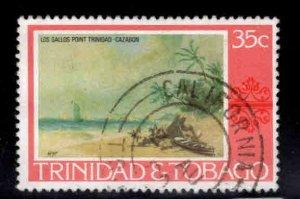 Trinidad & Tobago Scott 265 Used California cancel