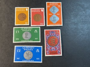 GUERNSEY # 200-203A-MINT NEVER/HINGED--PARTIAL SET--1980-81