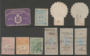 Netherlands Cinderella Revenue fiscal mix collection stamp ml25 as seen