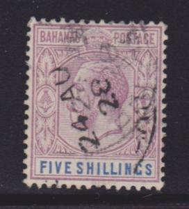 Bahamas 83 VF used nice cancel with nice color scv $ 85 ! see pic !