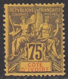 Ivory Coast 16 MNG CV $32.50