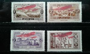 Lebanon #C13-16 mint hinged e194.4191
