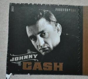 U.S. Stamp Scott #4789 JOHNNY CASH single stamp