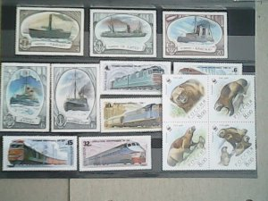 Russia MNH  nice lot of stamps