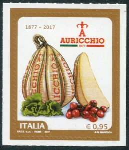 HERRICKSTAMP NEW ISSUES ITALY Sc.# 3445 Auricchio Cheese Self-Adhesive
