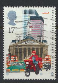Great Britain SG 1290 - Used - 350th Royal Mail Parcel service