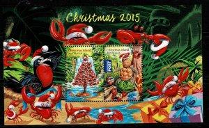 Christmas Island 2015  Christmas MNH M/s
