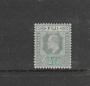 Fiji 1904/09 MCCA 1/2d Green & pale Green, Fine fresh MM SG 115